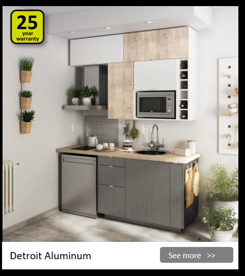 Explore the Delinia Detroit kitchen range. Be inspired.