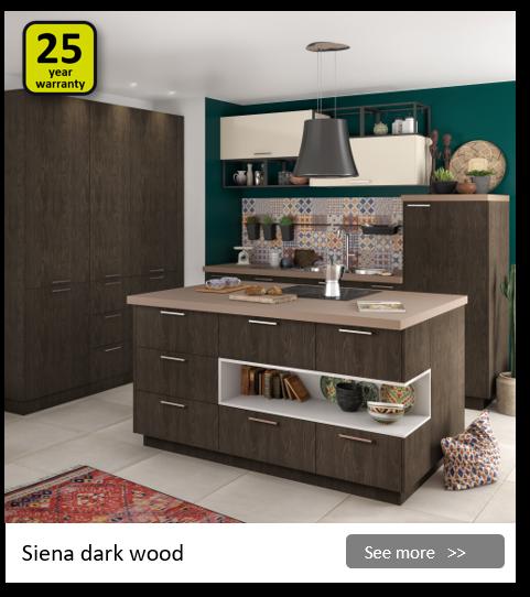 Explore the Delinia Siena kitchen range. Be inspired.