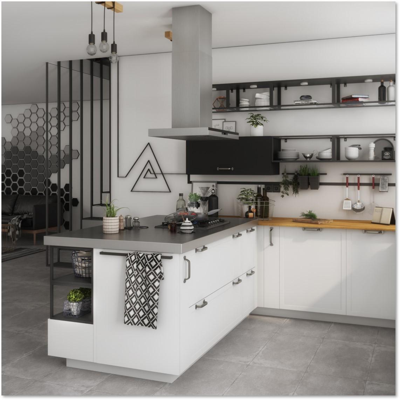 Delinia Newport White Designer Kitchen - Example 4