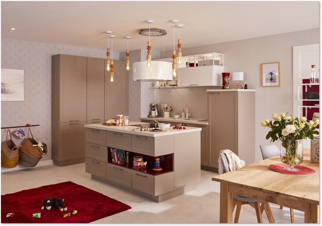 Delinia Newport Taupe Designer Kitchen - Example 1