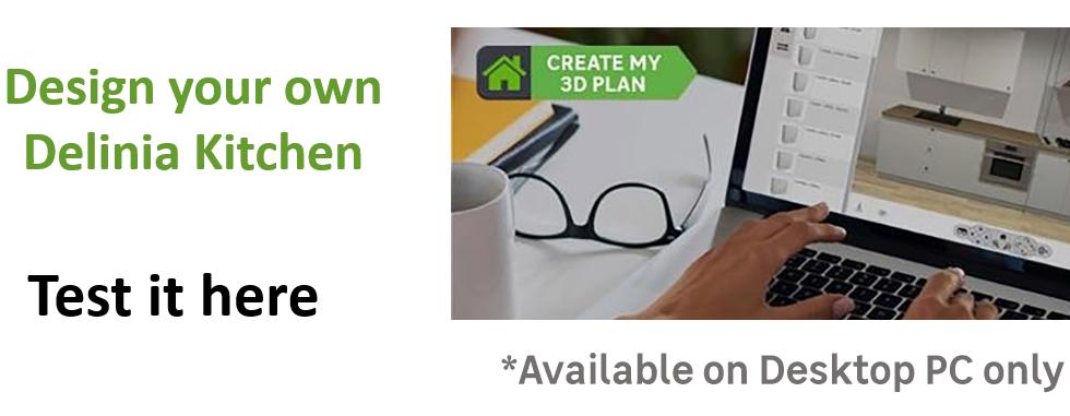 Create or Design your own Delinia Siena Designer Kitchen