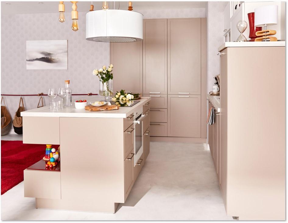 Delinia Newport Taupe Designer Kitchen - Example 2