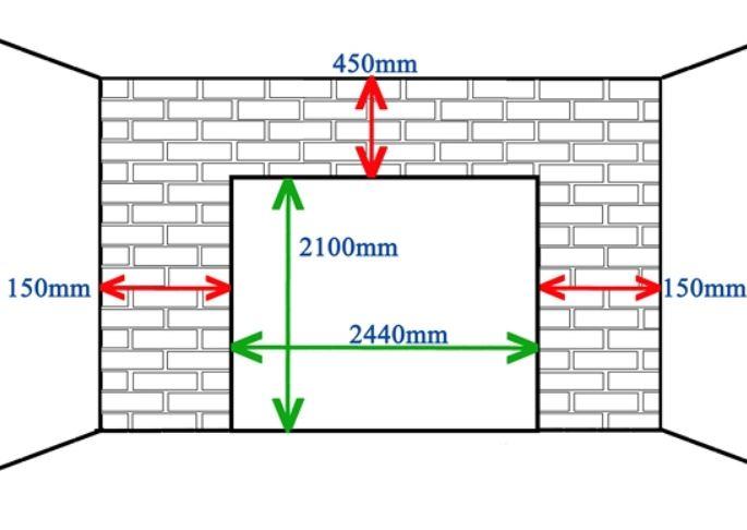 Clearence single door