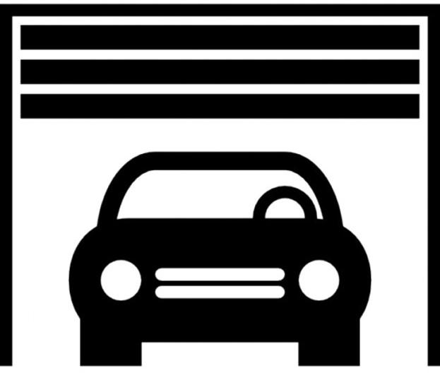 Single Garage Door icon