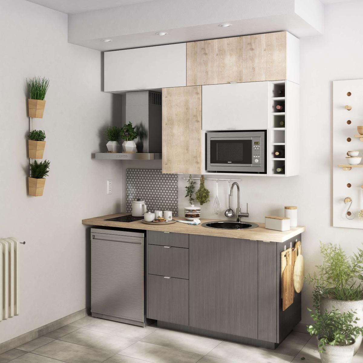 Mobi Delinia Detroit Designer Kitchen - Example 1
