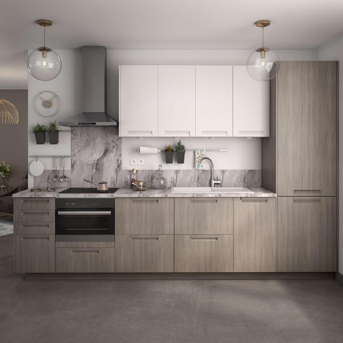 Delinia Detroit Designer Kitchen Mobi - Example 3