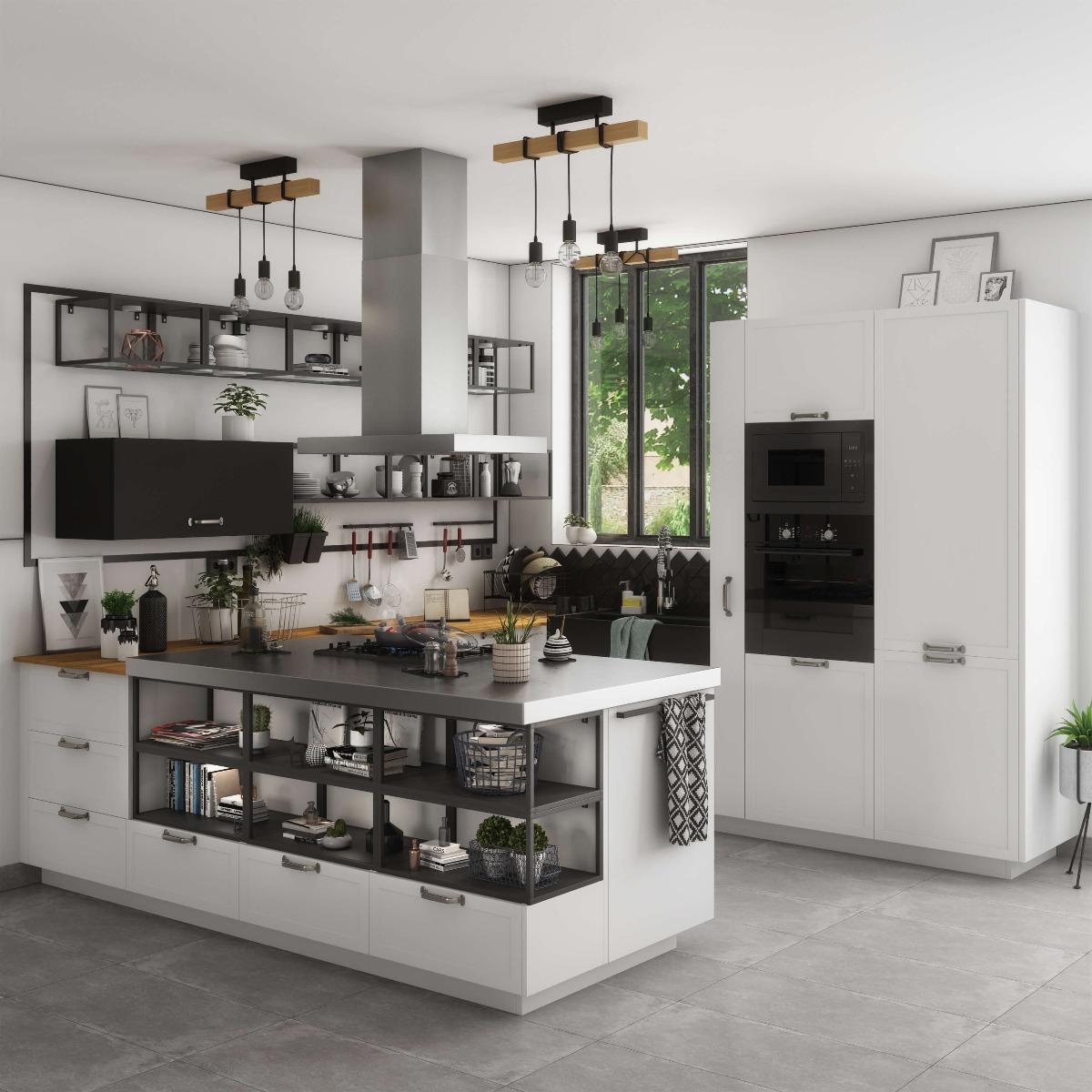 Delinia Newport White Designer Kitchen By Leroy Merlin Leroy Merlin South Africa
