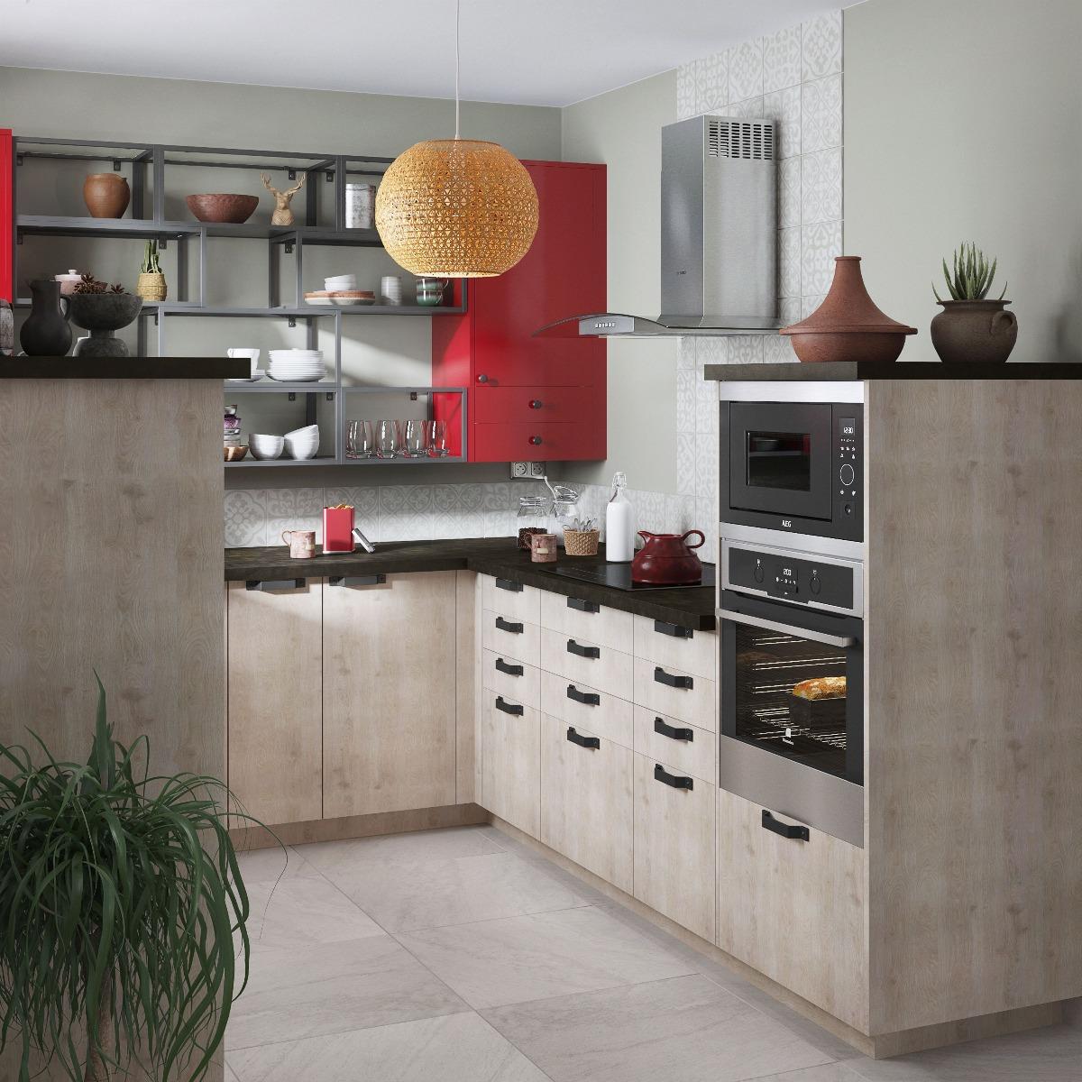 Delinia Nordik Designer Kitchen Mobi - Example 4
