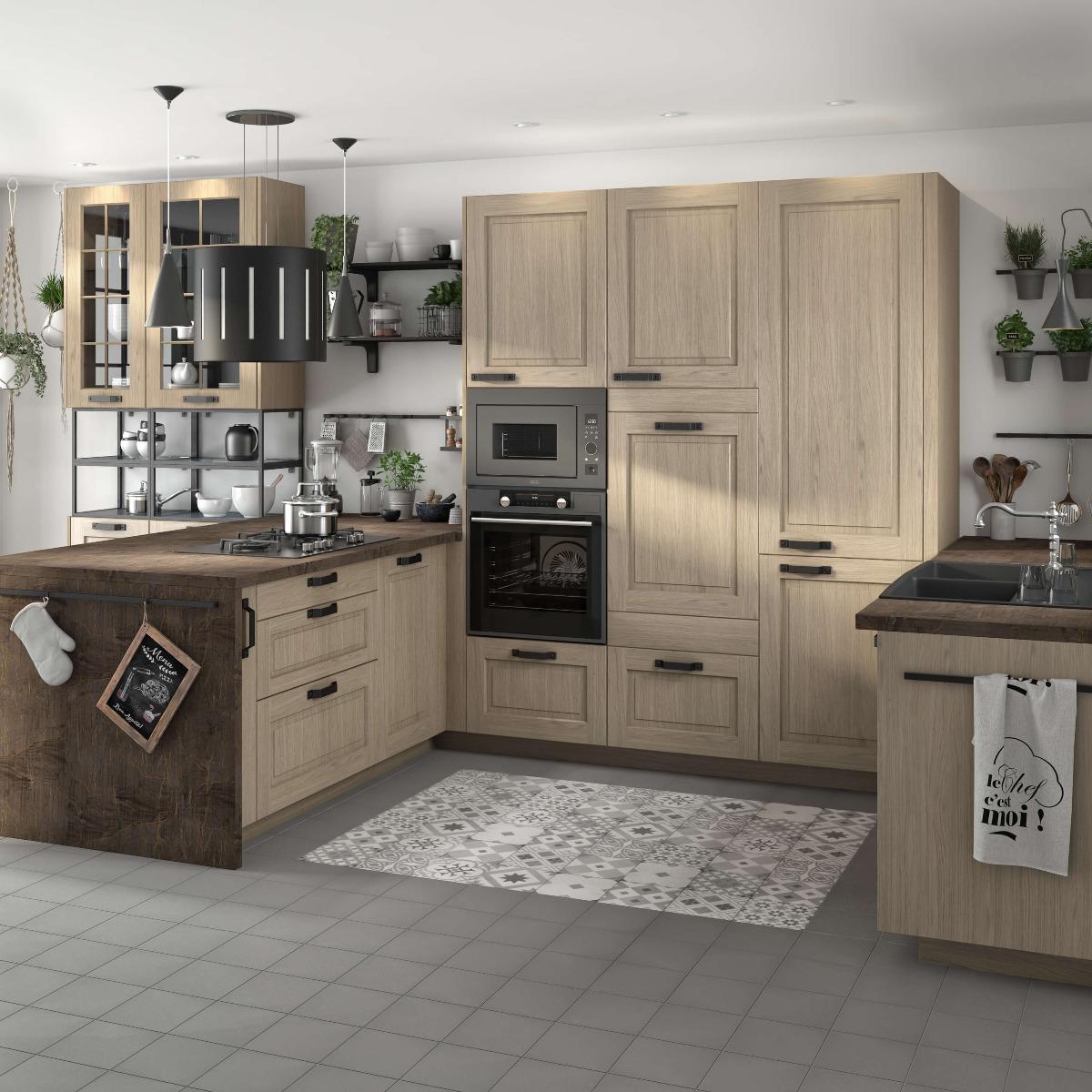 Delinia Prague Designer Kitchen Mobi - Example 1