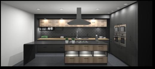 Design your own dream kitchen