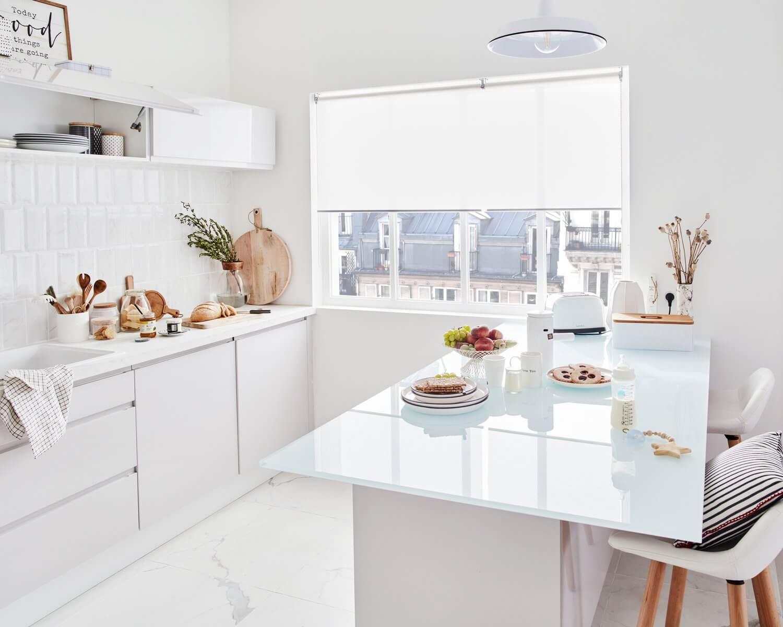Delinia Tokyo White Designer Kitchen Mobi - Example 5