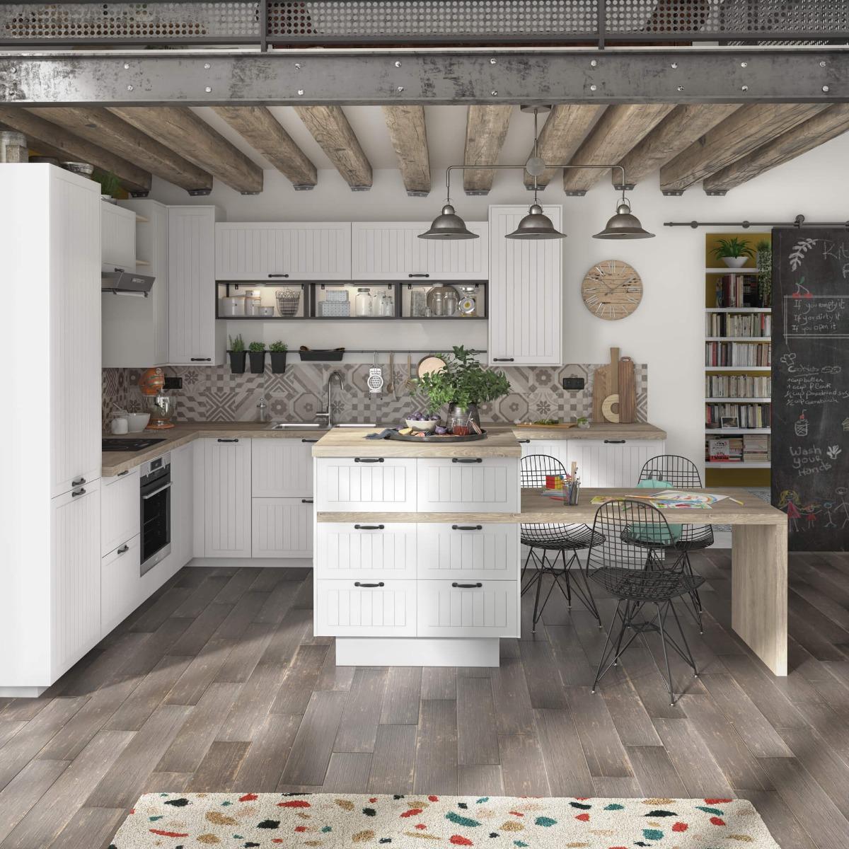 Delinia Toscane Designer Kitchen Mobi - Example 1