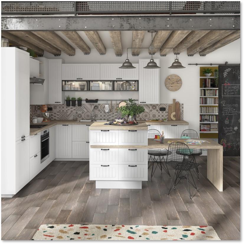 Delinia Toscane Designer Kitchen - Example 1