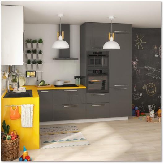 Delinia Sevilla Grey Designer Kitchen - Example 2