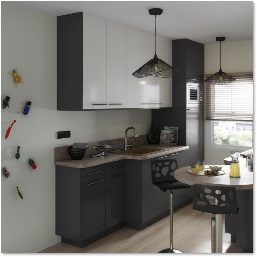 Delinia Sevilla Grey Designer Kitchen - Example 4
