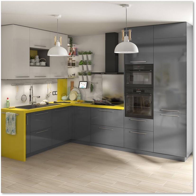 Delinia Sevilla Grey Designer Kitchen - Example 3