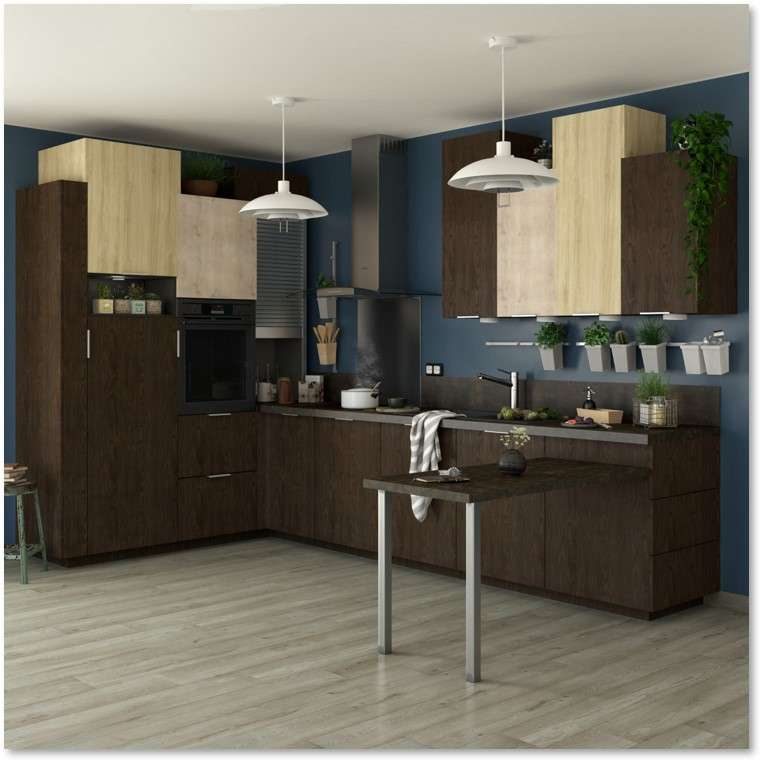 Delinia Siena Designer Kitchen - Example 3