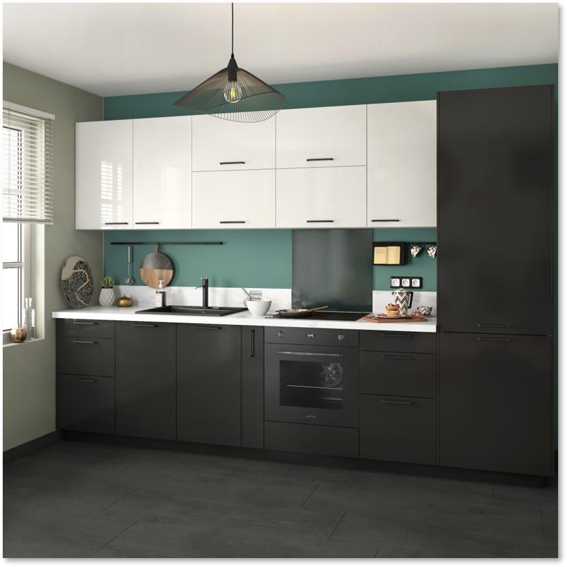Delinia Sevilla Black Designer Kitchen - Example 2
