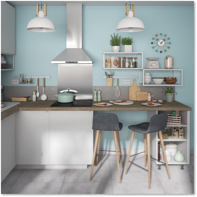 Delinia Sofia White Designer Kitchen - Example 5