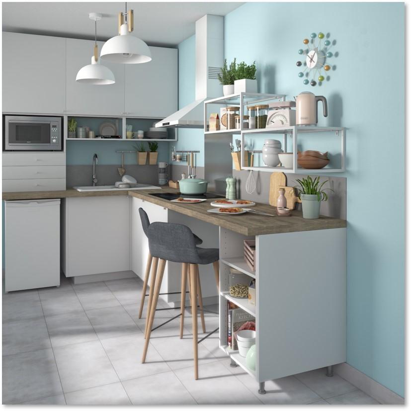 Delinia Sofia White Designer Kitchen - Example 1