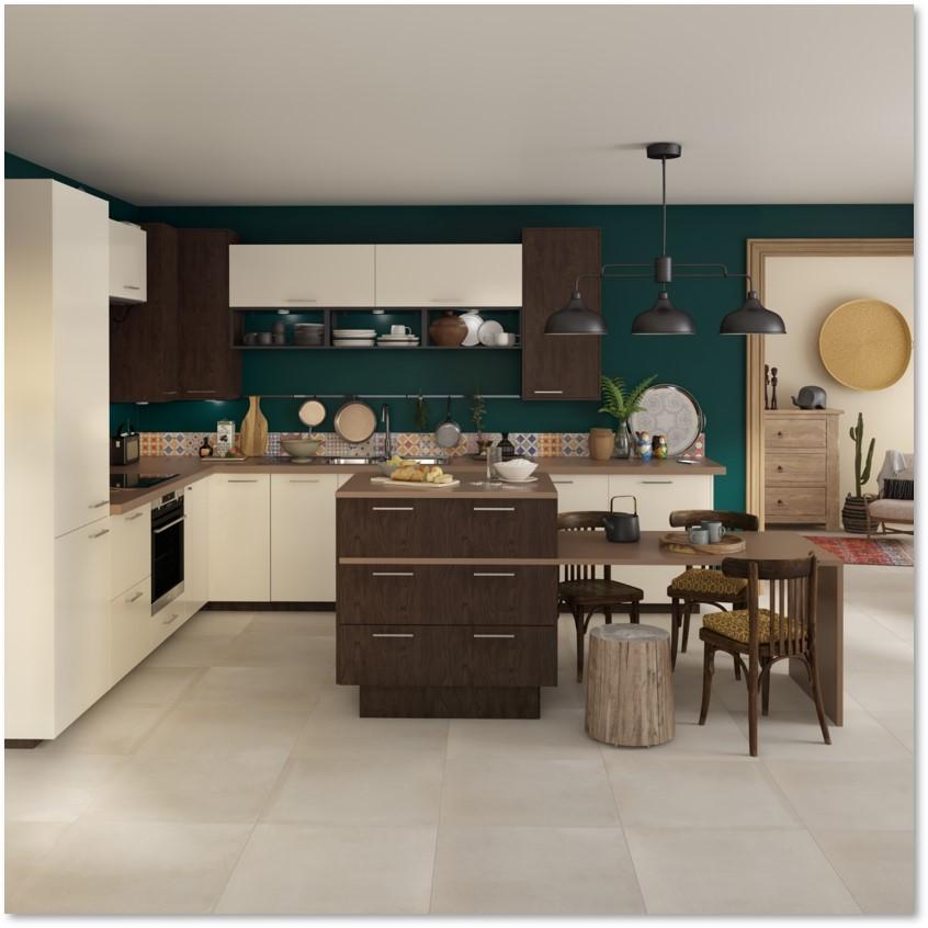 Delinia Sevilla Ivory Designer Kitchen - Example 2