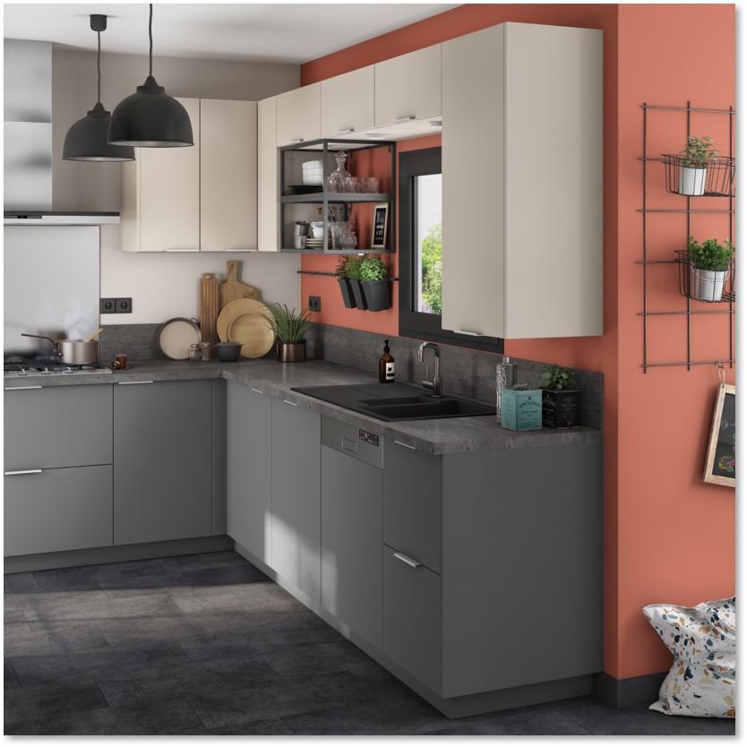 Delinia Sofia Grey Designer Kitchen - Example 3