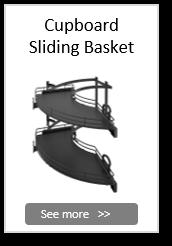 Cupboard Sliding Basket