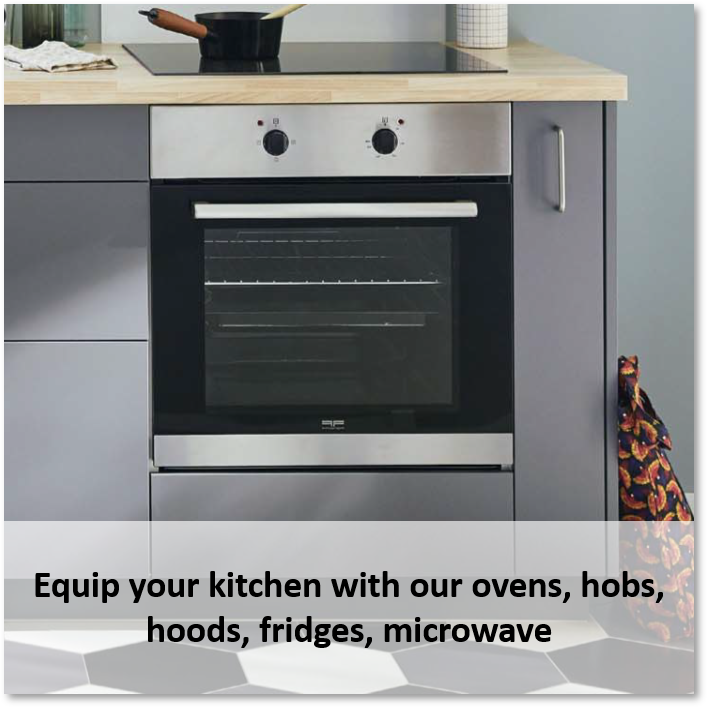 Complete your perfect kitchen with our integrated appliances