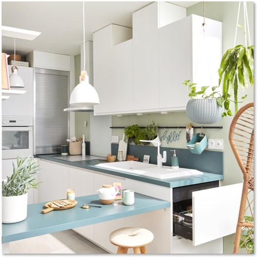 Delinia Tokyo White Designer Kitchen - Example 3