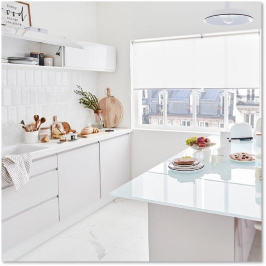 Delinia Tokyo White Designer Kitchen - Example 5